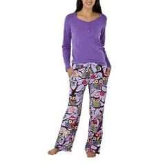 owl pajamas at Target