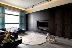 Elegant Living Space Located in Taipe
