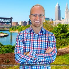 Michael loves Cleveland in his new blue designer glasses by Mykita!  Eye Candy – coolest European Eyewear Fashion in the city of Champions! Eye Candy Optical Cleveland – The Best Glasses Store! (440) 250-9191 - Book an Eye Exam Online or Over the Phone  www.eye-candy-optical.com