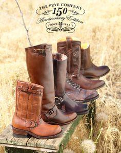 Sundance celebrates the 150th anniversary of Frye Boots.