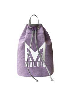 MOLDIR SACK DRAWSTRING BACKPACK DELIVERY STARTS 4.2 PRICE ₩125,000 COLOR: Black, Purple, Beige