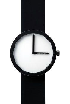 (Limited Supply) Click Image Above: Issey Miyake Mens Twelve Stainless Watch - Black Leather Strap - White Dial - Mens Watches Leather, Watches For Men, Black Watches, Modern Watches, Wrist Watches, Naoto Fukasawa, Issey Miyake Men, Design Industrial, Black Jewelry