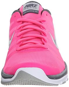 new arrival df873 7a52a Nike Women s Flex Supreme TR 3 Training Pink Silver Grey White - ShoesColor