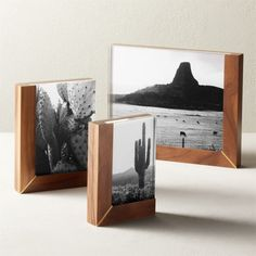Picture this: your favorite photos in modern frames. Find hanging ones to create your own gallery wall, or prop them on a desk for some personality. Floating Picture Frames, Unique Picture Frames, Picture Frame Projects, Home Decor Mirrors, Wall Art Decor, Acrylic Photo Frames, Framed Records, Modern Frames, Modern Art