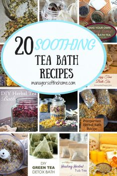 Merely boil some water and took into a bowl designed to take heat. Include your chosen herbs to the water to steep and have a towel on hand. Herbal Remedies, Natural Remedies, Bath Salts Recipe, Herbal Detox, Herbal Teas, Spiritual Bath, Bath Recipes, Diy Spa, Homemade Beauty Products