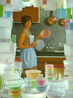 Feel like this tonight after unpacking all my brand new Tupperware!