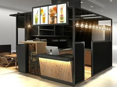 Our Favorite Superior Coffee Kiosk Manufacturer For Coffee Shop Kiosk on Home Decor Cool Ideas For Coffee Booth Kiosk Design, Booth Design, Retail Design, Store Design, Mall Kiosk, Kiosk Store, Container Cafe, Food Kiosk, Cafe Interior Design
