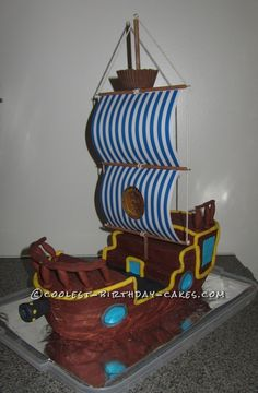 Coolest Bucky from Jake and the Neverland Birthday Cake... This website is the Pinterest of birthday cake ideas