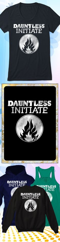 Dauntless Initiate - Limited edition. Order 2 or more for friends/family & save on shipping! Makes a great gift!