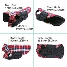 REXSONN Pet Dog cats Cozy Windproof Jacket Winter Warm Apparel Grid Plaid Reversible Coat Coats for small Puppy medium large dogs Reversible Cozy Dog winter Coat Jacket This fun reversible coat is warm and fleecy. Choose the Read  more http://dogpoundspot.com/dog-luxury-store-1420/  Visit http://dogpoundspot.com for more dog review products