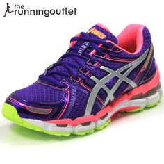 Asics Women's Gel Kayano 19 Running Shoe SS13: Electric Purple/White/Neon Pink. Best running shoes I have ever had!