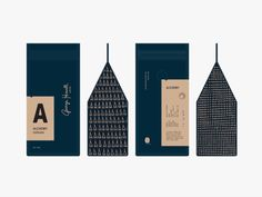 GHC by Jennifer Lucey-Brzoza - Dribbble Food Packaging Design, Coffee Packaging, Packaging Design Inspiration, Coffee Labels, Cheese Packaging, Chocolate Packaging, Beer Labels, Bottle Packaging, Packaging Ideas