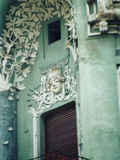 TravelRomania Pictures -- Art Nouveau/Sezession Architecture in . Art Nouveau Architecture, Interior Architecture, Beautiful Places In The World, Most Beautiful, Facade, Exterior, Bones, Campaign, Pictures
