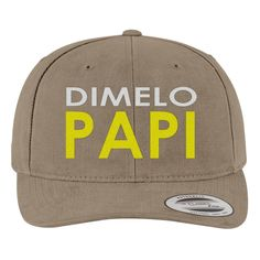 Dimelo Papi` Brushed Cotton Twill Hat