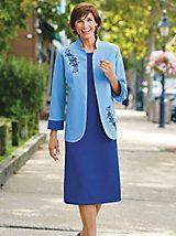 Embroidered Jacket Dress   Blair