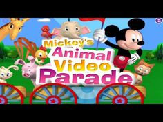 Mickey Mouse Clubhouse Mickey's Animal Video Parade Game Full Episodes
