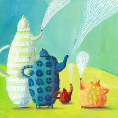 jenny melihove: what kettles talk about