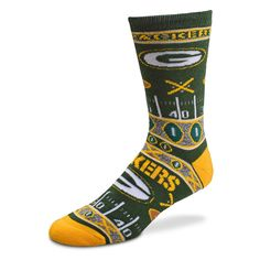 Packers Women's Super Fan Ugly Sock