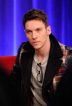 And sometimes he looked like this when he was thinking and stuff. | 18 Reasons Why Eternity With Jonathan Rhys Meyers Wouldn't Be So Bad