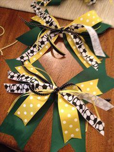 Soccer bows.