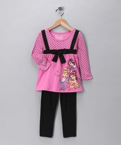 Take a look at this Princess Tunic & Leggings - Infant by Disney on #zulily today!