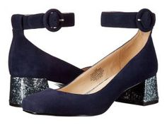 Nine West Pianobar (Navy Suede) Women's Shoes