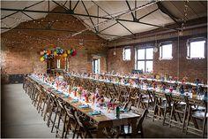 Warehouse Wedding - Swan Wharf via Mr and Mrs Unique | Photography Binky Nixon