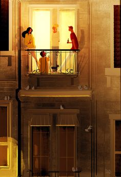 Illustration by Pascal Campion Pascal Campion, Love Illustration, Art Plastique, Illustrations, Storyboard, Bunt, Collages, Fantasy Art, Art Drawings