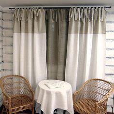 linen curtains - Google Search