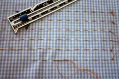 Before pleaters for smocking became popular in the mid 1980's, we pleated the fabric by hand. Since recent changes in the sewing industry have made pleaters harder to find, it is time to look back at
