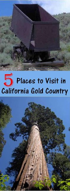 5 Place to visit in California's Gold Country  which stretches over 320 miles from Sierra City to the foothills of Yosemite, and connects many of the old mining towns of the Motherlode. Not into the gold rush history? Then you can hike, camp, shop or take a train ride. There is something for everyone in the family on this road trip!