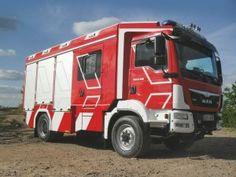 Feuerwehrfahrzeug von MAN