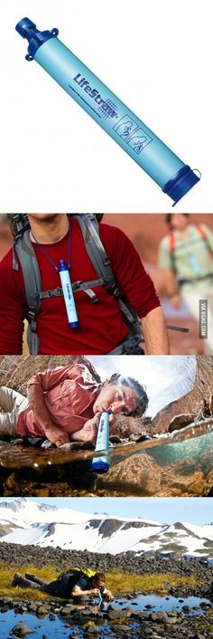 LifeStraw - Drink All The Dirty Water! This looks a little scary but it looks like a cool idea!