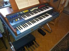 Welson President Orgel Porta Mit Tonkabinett Leslie Super Zustand in Nordrhein-Westfalen - Emmerich am Rhein   Musikinstrumente und Zubehör gebraucht kaufen   eBay Kleinanzeigen