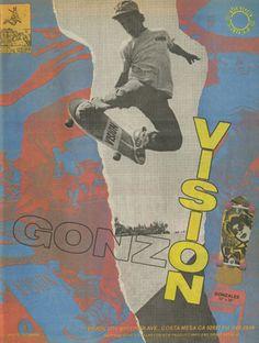 old skateboarding ads