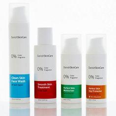 Hudplejeprodukter med anti-aging til bumser, fedtet og normal hud