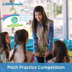 Invite teens to perfect their sales pitches by hosting a little friendly competition! In this exercise, girls will learn how to make a sales pitch to a small business and possibly score a big sale.