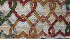 interlocking hearts quilt border