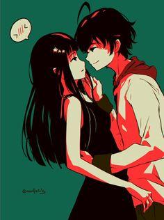 Just kiss already!!! #SouseiNoOnmyouji #Rokuro #Benio