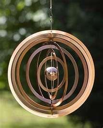 Endless Circles wind chimes