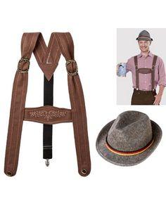 Lederhosen Costume Accessory Kit 2pc - Party City