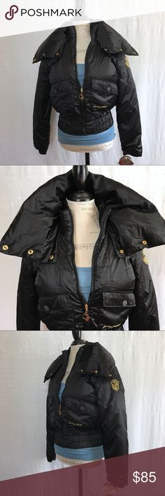 NWT Baby Phat • Puffer Down Coat/ Jacket New with tags! Baby Phat Black puffy down jacket. Baby Phat Jackets & Coats Puffers