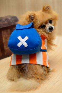 I really want this for my puppy <3  Cute Chopper One Piece Anime Dog Clothing on Etsy, $35.00