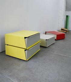EdBox - Eric Degenhardt Metal Sheet Design, Sheet Metal, Steel Furniture, Cool Furniture, Furniture Design, Metal Work Table, Tole Pliée, Toddler Arts And Crafts, Scandinavian Interior Design