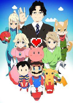 Thank You, Iwata by moxie2D on DeviantArt #ThankYouIwata #RIPIwata