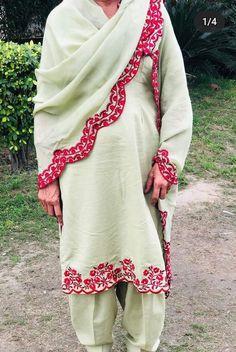 Bridal Suits Punjabi, Designer Punjabi Suits Patiala, Punjabi Suits Party Wear, Punjabi Suits Designer Boutique, Indian Designer Suits, Salwar Suits, Embroidery Suits Punjabi, Hand Embroidery Dress, Embroidery Suits Design