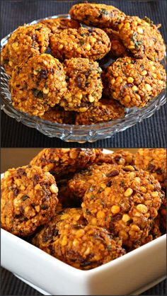 Chattambade also known as masala vada or Indian falafel is crispy, crunchy and…