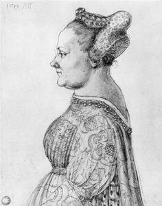 Portrait of a Woman  - Albrecht Durer