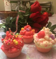 Valentine's JSO creation candles