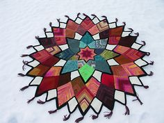 Ravelry: Domino Star Stashbuster Afghan pattern by Anita Grahn